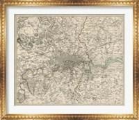 Framed Environs of London