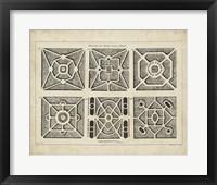 Framed Garden Parterre IV