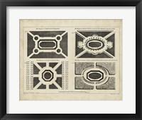 Framed Garden Parterre V