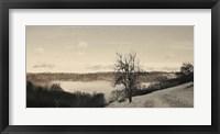 Foggy Mountain I Framed Print