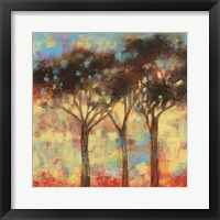 Kaleidoscope Trees I Framed Print