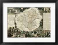 Framed Atlas Nationale Illustre III