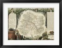 Framed Atlas Nationale Illustre IV