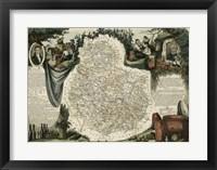 Framed Atlas Nationale Illustre IX