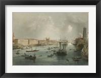 Framed Port of London