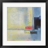 Touch of Blue I Framed Print