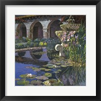 Fountain at San Miguel I Framed Print