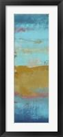 Riviera Bay I Framed Print