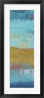 Riviera Bay II Framed Print