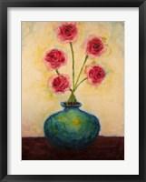 Framed Big Blue Vase