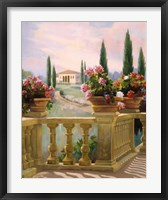 Framed Tuscany Morning