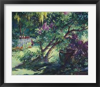 Framed From Under the Lilac