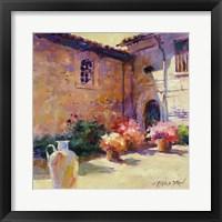 Framed Umbrian Sunlight