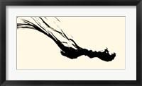 Framed Silk Ink III