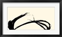 Framed Silk Ink IV