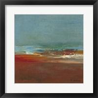 Sea Horizon I Framed Print