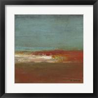 Framed Sea Horizon III