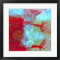 Coral Glass I Framed Print