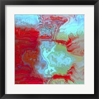 Coral Glass I Framed Print