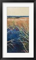 Framed Pastel Wetlands II