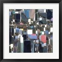 Building Block Tile II Framed Print