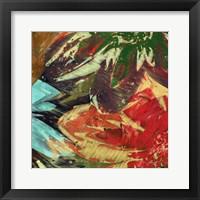 Framed Floragraph I