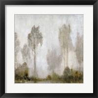 Misty Marsh I Framed Print