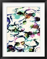 Bubble Abstract I Framed Print