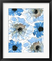 Water Blossoms II Framed Print