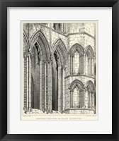 Framed Gothic Detail V