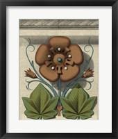 Floral Detail I Framed Print