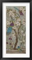 Framed Gardenia Chinoiserie I