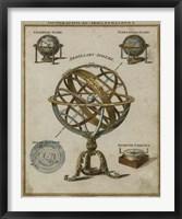 Framed Geographical Illustrations
