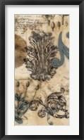 Encaustic Ephemera II Framed Print