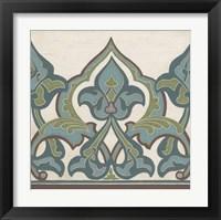 Framed Non-Embellished Persian Frieze I