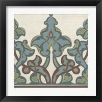 Framed Non-Embellished Persian Frieze II