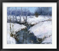 Framed Winter White