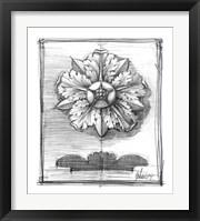 Framed Non-Embellished Decorative Ornament II
