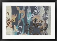 Pinwheel Cutouts I Framed Print