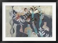 Pinwheel Cutouts II Framed Print