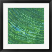 Framed Green Earth I