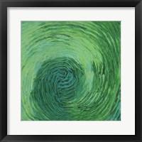 Framed Green Earth II