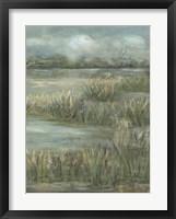 Green Meadows II Framed Print