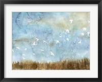 Birds in Flight I Framed Print