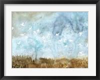 Birds in Flight II Framed Print