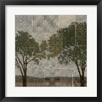 Patterned Arbor I Framed Print