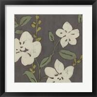 Cream Florals II Framed Print