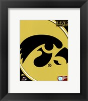 Framed University of Iowa Hawkeyes Logo