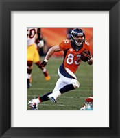 Framed Wes Welker Running With Football
