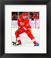 Framed Pavel Datsyuk 2013-14 Action